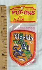 NIP Florida Souvenir Tourism Tourist Attractions Patch Badge by Lion