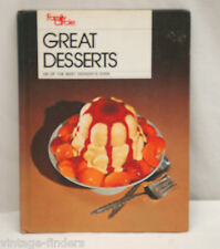 Family Circle Great Desserts 250 of the Best Desserts Ever 1978 Hardback Book