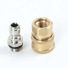 Quick Connect Coupler Adapter Car Clean Washing Pressure Washer Connector