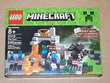 LEGO Minecraft The Cave 21113 Steve Spider Zombie HARD TO FIND ready to ship