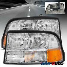1998-2004 GMC Sonoma Jimmy S-15 Headlights Replacement Lamps without Fog Lights