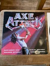 "Axe Attack 12"" Vinyl Black Sabbath Iron Maiden Ac/dc Rainbow Metal"