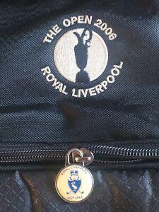 Golf Open Championship 2006 Royal Liverpool Golf Carry Bag