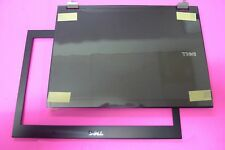 NEW GENUINE Dell Latitude E6400 LCD Back Cover Lid w/Front Trim Bezel Set FX282