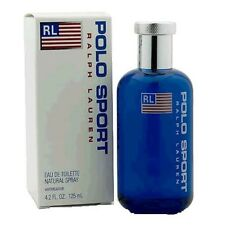 Polo Sport For Men by Ralph Lauren Edt. Spray 4.2oz 125ml * New in Box Sealed *