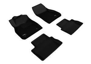 3D MAXpider Floor Liners Kagu Black For 13-15 Chevrolet Malibu