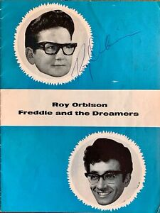 ROY ORBISON GENUINE HAND SIGNED PROGRAMME 1964 (WITH FREDDIE & THE DREAMERS)