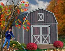 New Denver 12x20 ft Best Barns Wood Shed Barn Kit Denver1220 (50 Year Warranty!)