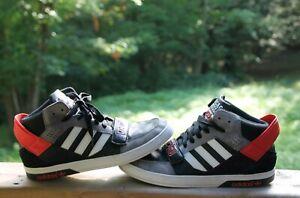 Chicago Bulls NBA Basketball Adidas Originals Space Diver Shoes Mens Size 9.5