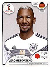 Panini Fifa World Cup 2018 Russia Sticker 437 Jérôme Boateng Deutschland Germany