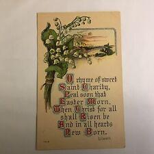 Vintage Easter Unposted Postcard