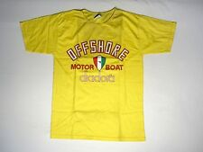 NOS 90s DIADORA MOTORE Boat offshore T-shirt ITALY Vintage n9000 s8000 v7000 x DS