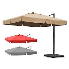 3 x 3 m Alu Ampelschirm Sonnenschirm / Sonnenschirmbespannungen / Schirmständer
