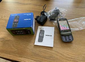 Nokia  C2-03 - Schwarzer Chrom (Ohne Simlock) 100% Original!! Unbenutzt !!