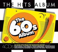 THE HITS ALBUM - THE 60S ALBUM - CHIFFONS SUPREMES TROGGS BYRDS - 4 CDS - NEW!!