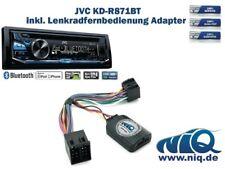 JVC KD-R871BT inkl. Lenkrad Fernbedienung Adapter Opel Astra / Agila / Corsa / .