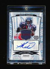 KNOWSHON MORENO 2009 BOWMAN STERLING X-FRACTOR REFRACTOR JERSEY AUTO RC #D 4/5