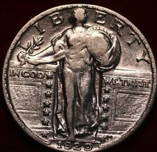 1929 Philadelphia Mint Silver Standing Liberty Quarter