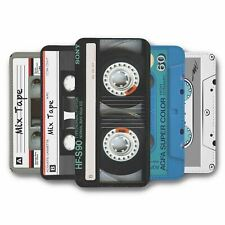 For iPhone 5 5S Flip Case Cover Cassette Collection 1