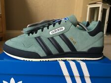 hot sale online b37b8 e2016 Adidas Jeans Super OG Vapour Grey Blue Size 8 Deadstock 80s Retro Casuals