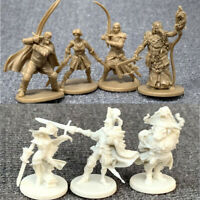 Lot 7Pcs D&D Dungeons & Dragon Miniatures War Board Game Marvelous Figures