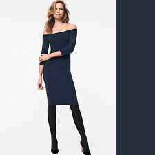 Wolford Sheen Dress - S - midnight / nachtblau  ... Kleid mit schmaler Passform
