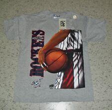 Houston Rockets Shirt 90's Lee Vintage MINT New DS w/ tag sz Medium Olajuwon Era