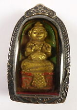 KUMAN THONG CHILD SACRED BOY GHOST OCCULT BARANG AMULET FOR GOOD LUCK & FORTUNE