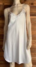 Vintage Barbizon White Size Medium Full Slip #10741