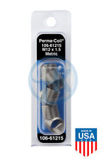 Perma Coil 106 61215 Metric Thread Insert Pack M12x15 6pc Helicoil R3745 12