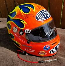 Jeff gordon *Double Signed* 2004 Dupont Helmet *Extremely Rare!* Gary Hess paint