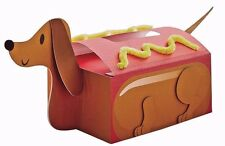 Dachshund Hot Dog Valentine's Day Mail Box Decorating Craft Kit Box Included