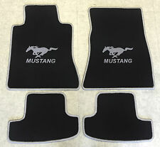 Tappetini per Ford Mustang vi dal 2014 2-tlg TAPPETO Auto Nero