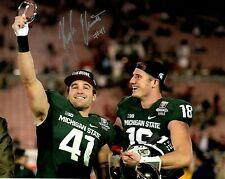 Kyler Elsworth Michigan State Spartans hand autograph signed 8x10 ROSE BOWL MVP#