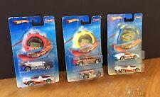 3 x Cronómetro Track Aces Hot Wheels 6 coches 1994 Sellado-desgaste de embalaje