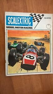 Scalextric 1969 Catalogue 10th Edition Very Good Clean Condition 1/24 Cars