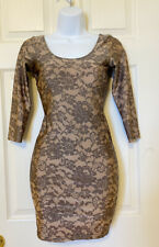 Womens AMERICAN APPAREL Lace Print DRESS SIZE S Small, Nylon Material