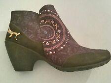 DESIGUAL STIEFEL DAMEN Boots Gr. DE 41 braun #9f4ec40 EUR