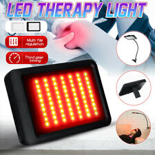 Infrared LED Therapy Pad Red Light Lamp Deep Penetration Pain Relief Safe