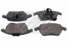 MAPCO  6695 Bremsbelagsatz, Scheibenbremse Vorderachse  Vorderachse