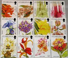 ST HELENA 2003 874-85 824-35 Blüten Wildblumen Blumen Wild Flowers Flora MNH
