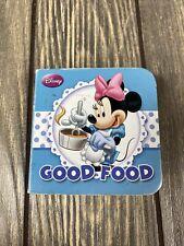 Disney Good Food Blue Minnie Mouse Mini Book 2012