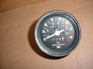 Harley Davidson FXR Sportster FX Speedometer 7825