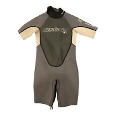O'Neill Shorty Wetsuit Child's Size 6 Gray Ivory Black