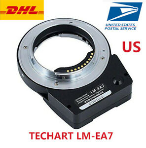US TECHART 6.0 LM-EA7 II Auto Focus Adapter Leica M mount lens For Sony A9 A7R2