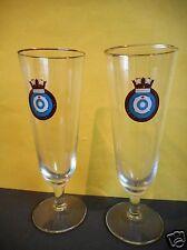 2 HMCS Preserver Glasses,Royal Canadian Navy Ship,AOR 510