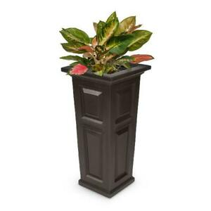 Nantucket Tall Planter - Espresso