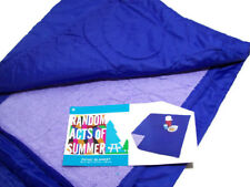 Outdoor Stadium Picnic Camping Blanket Throw Blue New