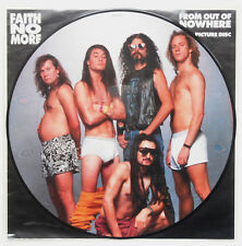 "Faith No More ‎- From Out Of Nowhere 12"" PICTURE DISC 1990 UK PRESS Mike Patton"