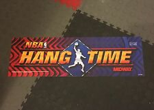 NBA Hangtime Arcade Marquee Midway Translight Header Backlit Sign Hang Time
